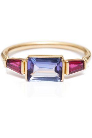 Yi Collection Tanzanite & Ruby Ring