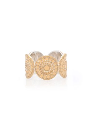 Anna Beck Contrast Multi-Disc Ring