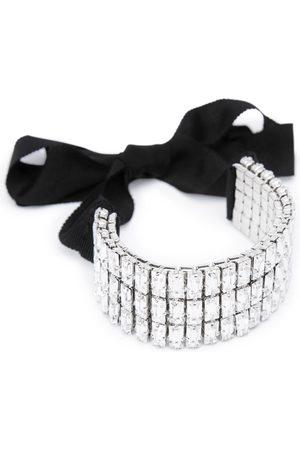 THALÈ BLANC Gatsby Swarovski Wristlet or Choker