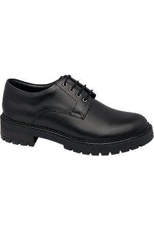 5th Avenue Women Shoes - Leather Lace Up Shoes