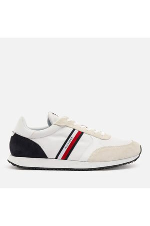 Tommy Hilfiger Men Trainers - Men's Lo Mix Stripes Running Style Trainers