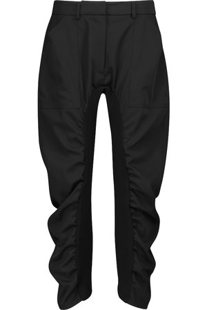 Stella McCartney Tina ruched wool pants