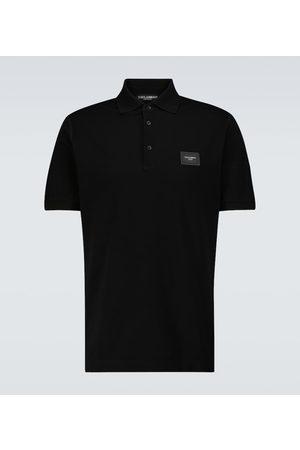 Dolce & Gabbana Short-sleeved polo shirt