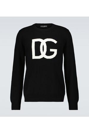 Dolce & Gabbana Logo knitted sweatshirt