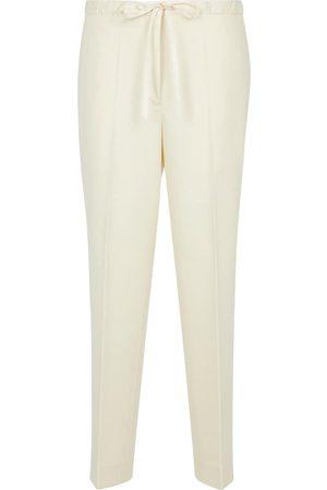 Jil Sander Wool-blend drawstring pants