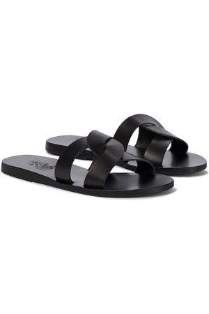 Ancient Greek Sandals Desmos Stitch leather sandals