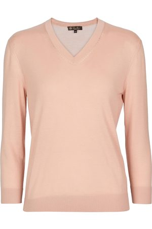 Loro Piana Brera cashmere and silk sweater