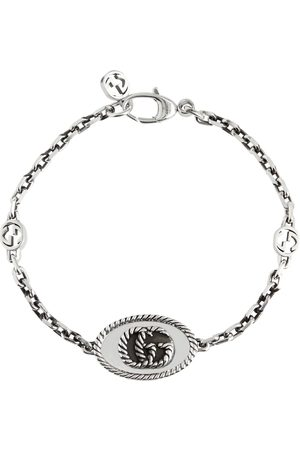 Gucci Double G chainlink sterling bracelet