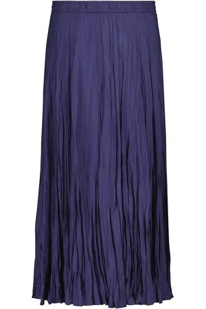 Joseph Sully pleated silk midi skirt