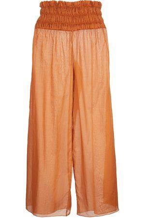 JOHANNA ORTIZ Esperanza wide-leg cotton pants