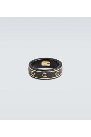 Gucci Icon ring with Interlocking G