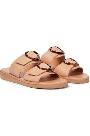 Ancient Greek Sandals X Harley Viera-Newton Iaso leather sandals