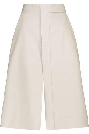 Stella McCartney Lauren faux leather midi skirt