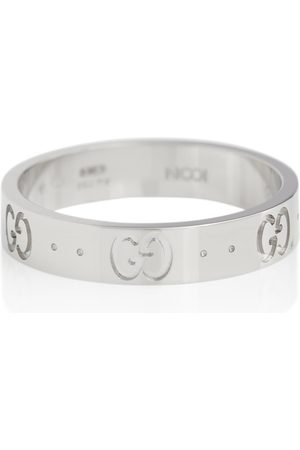 Gucci Icon 18kt white gold ring
