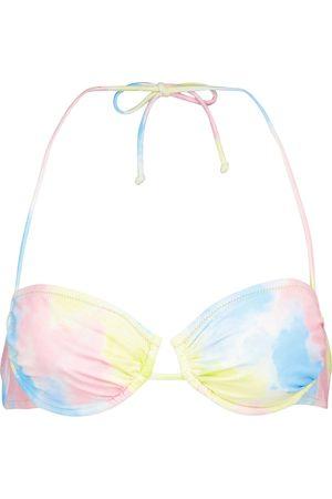 Reina Olga Penny tie-dye bikini top