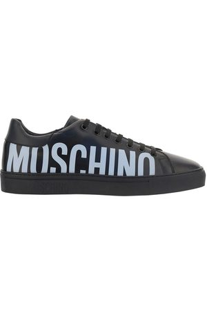 Moschino MEN'S MB15012G1DGA0000 LEATHER SNEAKERS