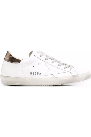 Golden Goose WOMEN'S GWF00101F00194610272 LEATHER SNEAKERS