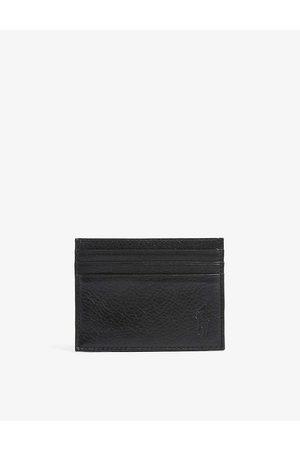 Polo Ralph Lauren Logo-debossed leather cardholder