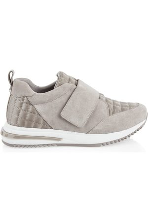 Marc Cain SUEDE TRAINER WITH VELCRO