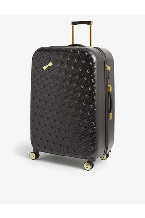Ted Baker Bellll bow-embellished plastic suitcase