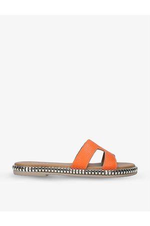 Carvela Comfort Sophia stud-embellished leather sandals