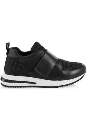 Marc Cain LEATHER TRAINER WITH VELCRO