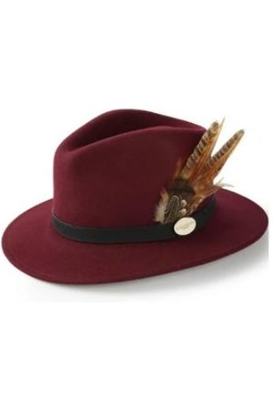 Hicks & Brown Hicks And Brown Chelsworth Fedora Maroon HBCH1MA