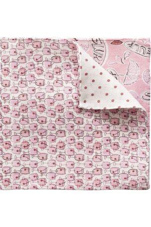 Eton Men Pocket Squares - Four Prints Linen Pocket Square A0003301455