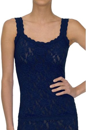 Hanky Panky Signature Lace Classic Camisole - Navy