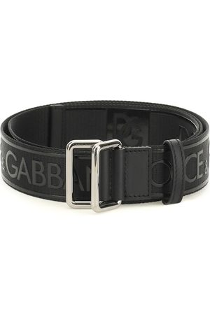 Dolce & Gabbana Men Belts - LOGO BELT 100 Technical, Leather
