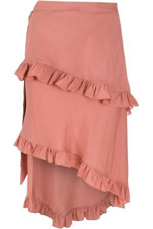 Clube Bossa Feine ruffled skirt - Neutrals