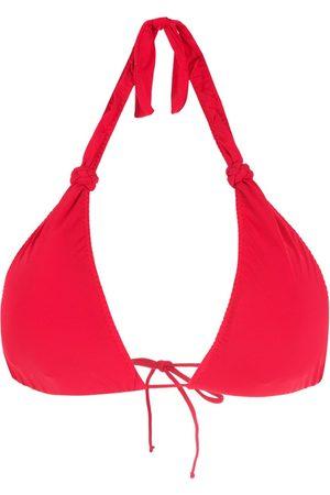 CLUBE BOSSA Women Bikinis - Braid-detail halterneck bikini top