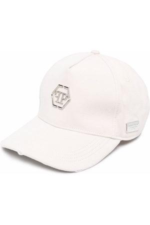 Philipp Plein Hats - Logo baseball cap - Neutrals