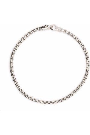 TOM WOOD Venetian rhodium-plated sterling bracelet