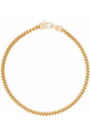 TOM WOOD Curb M -plated sterling silver bracelet