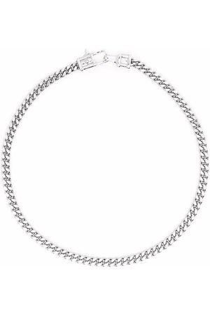TOM WOOD Bracelets - Curb M sterling bracelet