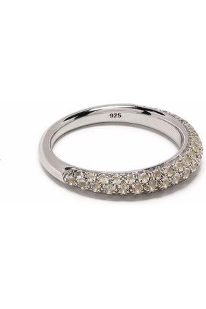 Tom Wood Rings - Liz crystal-embellished slim ring
