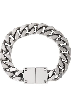 Burberry Chain-link logo-engraved bracelet