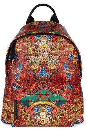 Giuseppe Zanotti Men Rucksacks - Bud oriental-print leather backpack