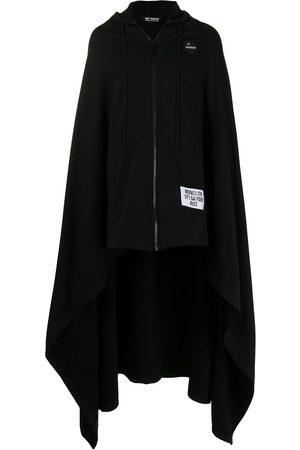 RAF SIMONS Long hooded cape coat