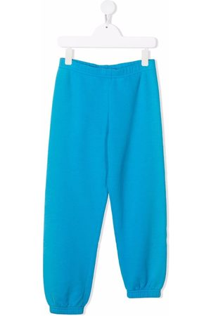 ERL KIDS Asymmetric slim-fit track pants