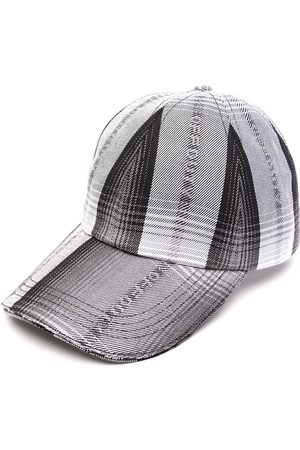 Off-Duty Logo-jacquard striped cap
