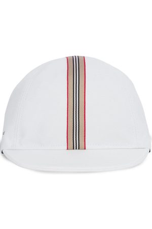Burberry Kids Icon Stripe cotton cap