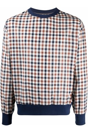 Alchemy Gingham-check print jumper