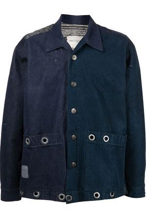 GREG LAUREN Long-sleeve lightweight shirt jacket