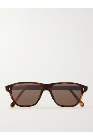 Cubitts Chalton Square-Frame Acetate Sunglasses