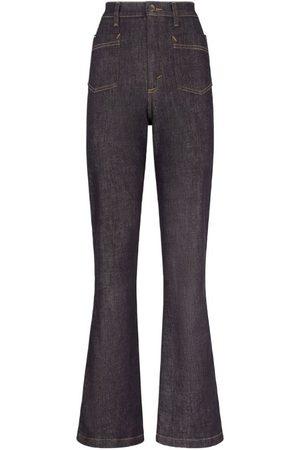 Dolce & Gabbana Women Wide Leg Trousers - High-Rise Bootcut Jeans