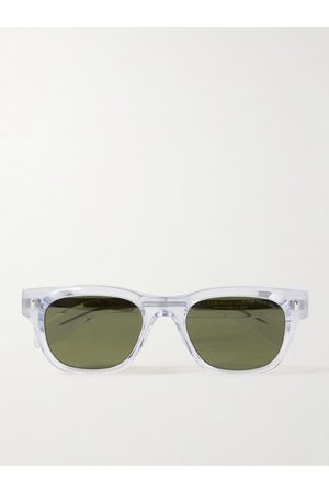 CUTLER AND GROSS 9772 Square-Frame Acetate Sunglasses