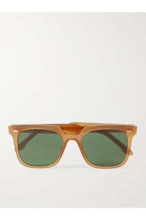 Cutler and Gross 1387 Square-Frame Acetate Sunglasses