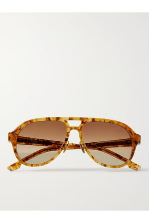 JACQUES MARIE MAGE George Cortina Aviator-Style Acetate Sunglasses